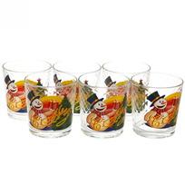 Набор стаканов 6шт ″Снеговик с подарками″ в подарочной упаковке D1240/06 купить оптом и в розницу