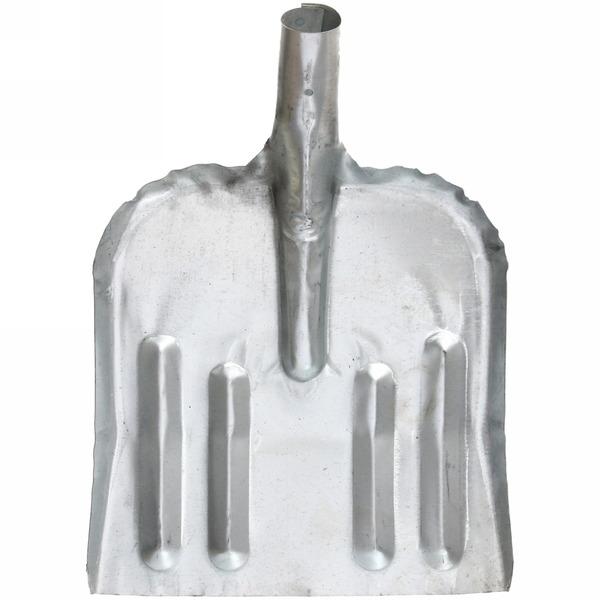 Лопата снеговая оцинкованная 32*46 см купить оптом и в розницу