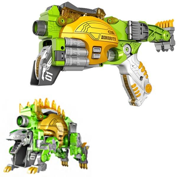 Пистолет Стегозавр с мягк.пулями Трансформер 3415603 купить оптом и в розницу