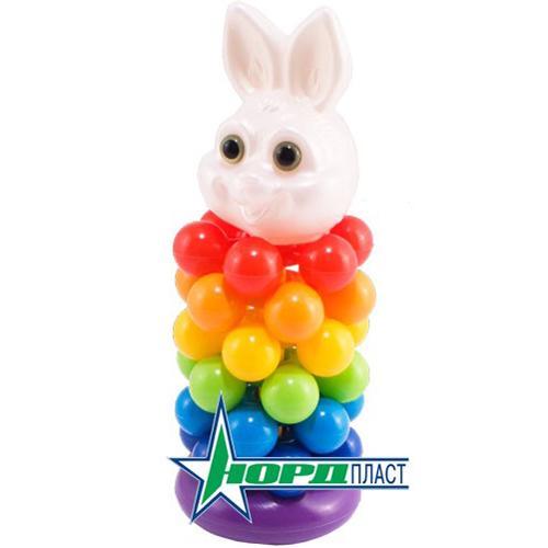 Пирамидка Кролик звездочка 427 Норд /28/ купить оптом и в розницу