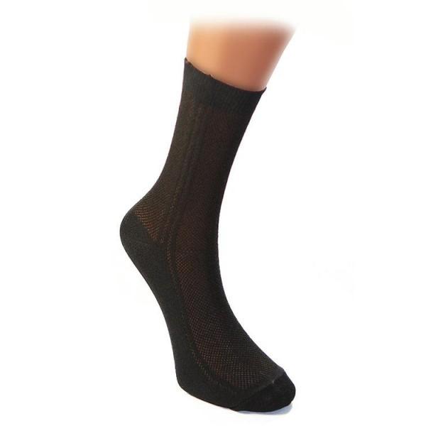 Носки мужские с-205 р-р черные 31, хлопок 80% купить оптом и в розницу