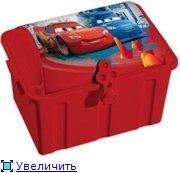 Сундучок для сокровищ DISNEY CARS красный Curver (386*513*373)/4 шт купить оптом и в розницу