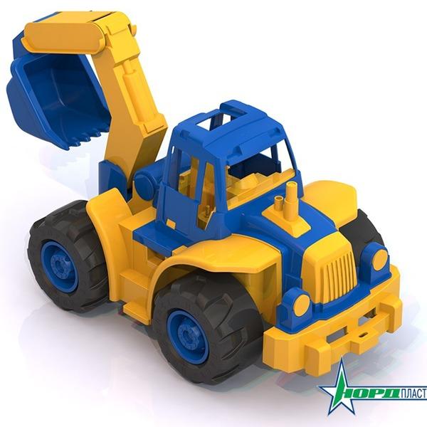 Трактор Богатырь мини с ковшом 298 Норд /6/ купить оптом и в розницу