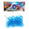 Резинки для плетения 300шт неоновый микс с крючком и S-клипсами купить оптом и в розницу