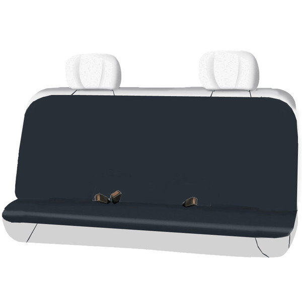 Чехол автомобильный защитный на заднее сидение, размер 95*123 см, цвет черный купить оптом и в розницу