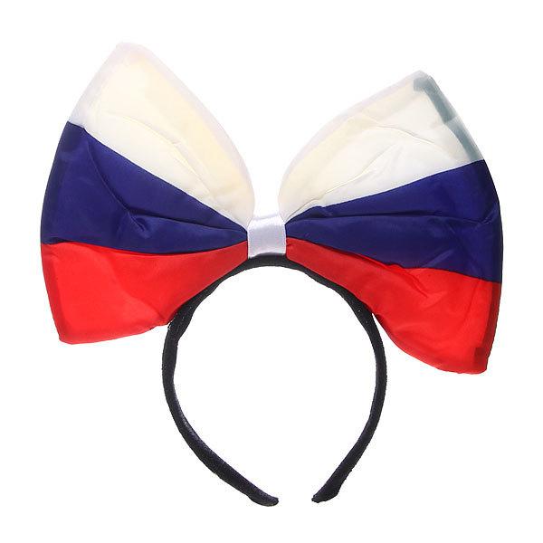Ободок карнавальный ″Бант Флаг ″ 2001-18 купить оптом и в розницу