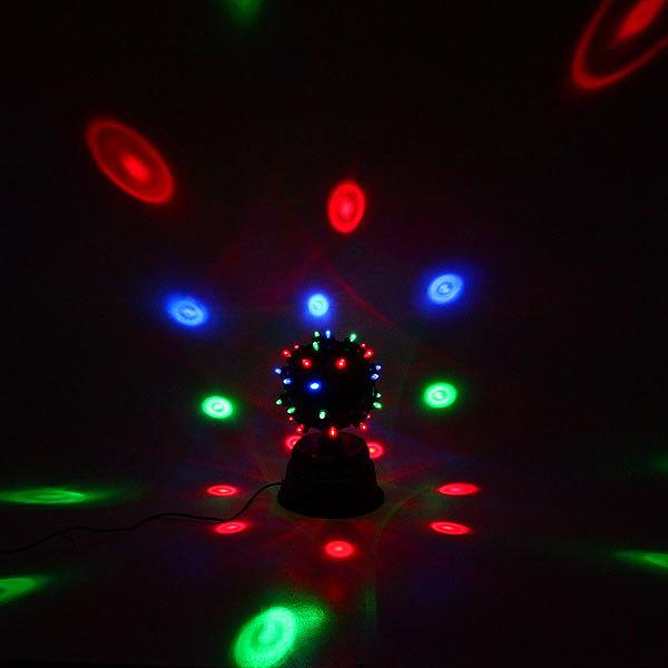 Световой прибор Дискобол, 30см, RGB,( красный, зеленый, синий) купить оптом и в розницу