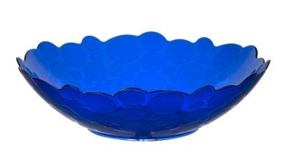 Фруктовница Glory 2,2 л (синий полупрозрачный)  45 купить оптом и в розницу