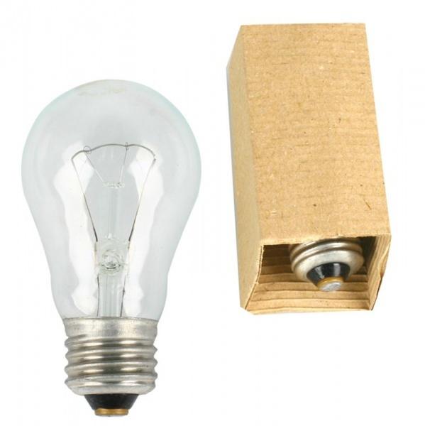 Лампа накаливания ОНЛАЙТ OI-A-75-230-E27-CL (1/154) купить оптом и в розницу