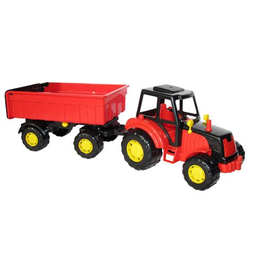 Трактор Мастер с прицепом №1 35257 П-Е /6/ купить оптом и в розницу