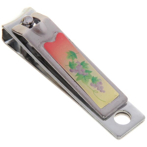 Кусачки для ногтей ″Фрукты″ цвет серебро 5,5см купить оптом и в розницу