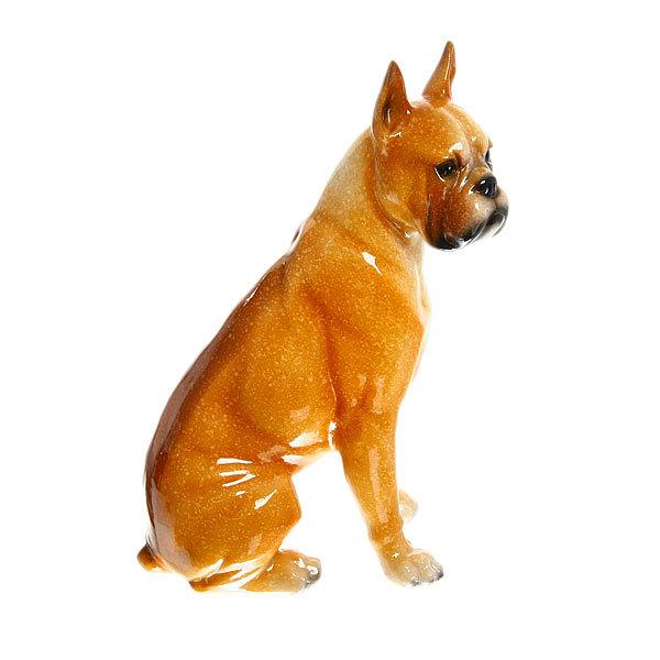 Статуэтка из полистоуна ″Собачка Боксер″ 19,5*11см 1631 купить оптом и в розницу