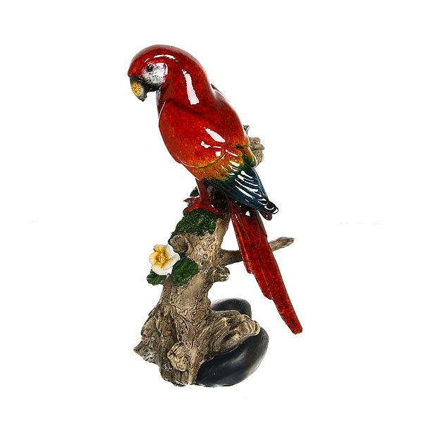 Статуэтка из полистоуна ″Волнистый попугайчик на ветке″ 22*11см 1981R купить оптом и в розницу