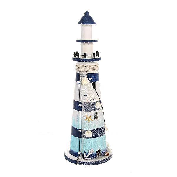 Фигурка из дерева, маяк ″Море″, 52 см купить оптом и в розницу