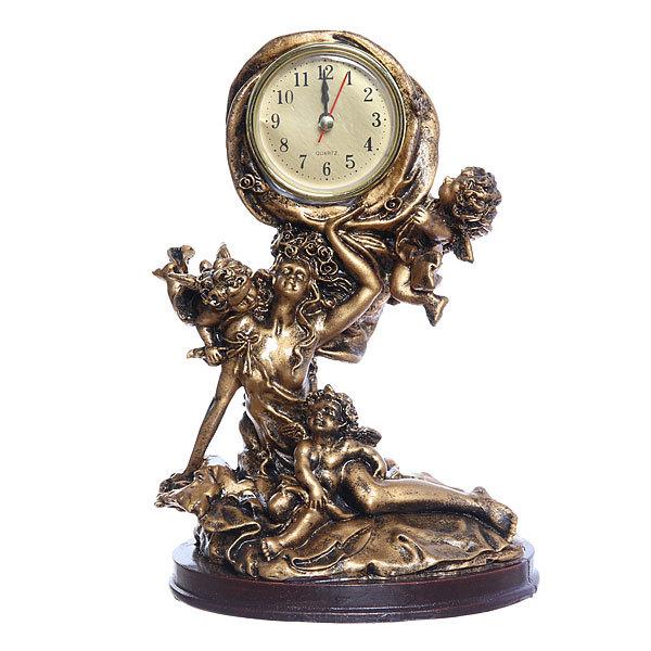 Часы скульптурные ″Девушка″ 23см QR7546 купить оптом и в розницу