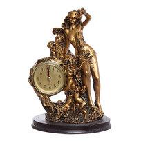 Часы скульптурные ″Девушка″ 23см QR7543 купить оптом и в розницу