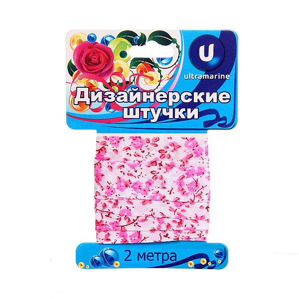 Тесьма для шитья ″Цветочки″ 2см*2м Х095 купить оптом и в розницу