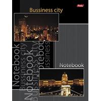 """Блокнот А5 80л.кл.скрепка,тв.обл.HATBER, """"Business city"""", 5-цв.блок купить оптом и в розницу"""