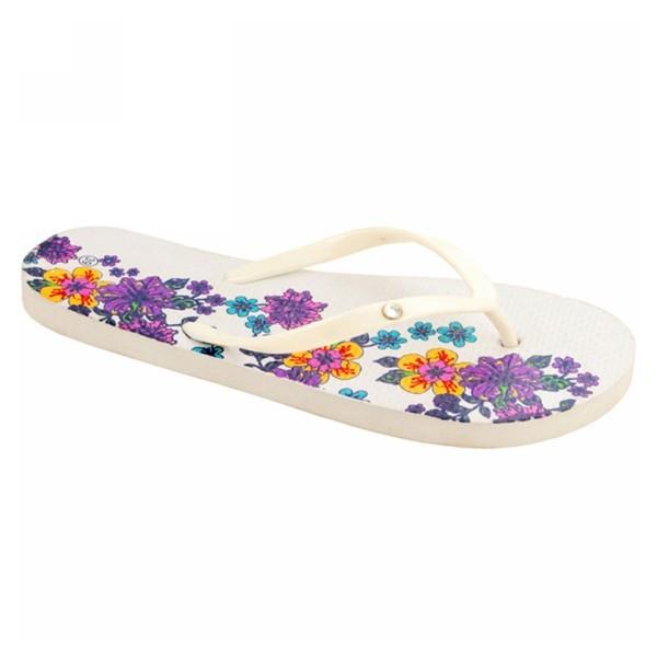 Туфли для купания женские ЭВА, цветы, р 36-40 купить оптом и в розницу