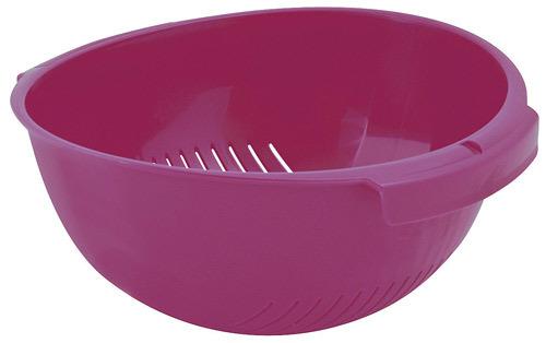 Дуршлаг розовый Curver/ *6 шт купить оптом и в розницу