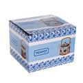 Чайник заварочный керамический 750 мл с ситом ″Лотос″ JH206 купить оптом и в розницу