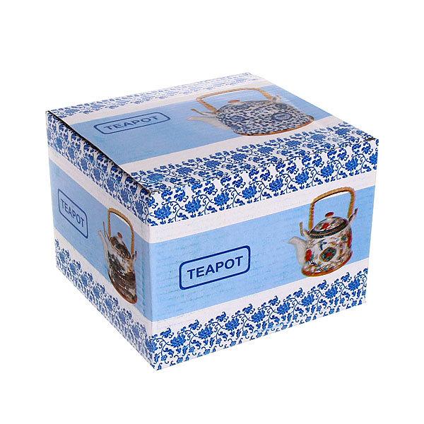 Чайник заварочный керамический 750 мл с ситом ″Птицы″ 2 купить оптом и в розницу