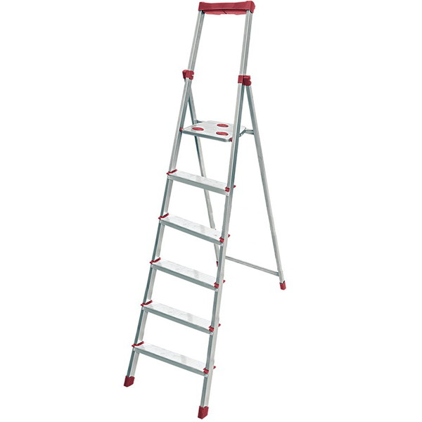 Стремянка 6 ступеней (алюминий), высота 365 см, СА6 купить оптом и в розницу