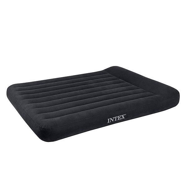 Матрас надувной Pillow Rest Classic,191*137*23 см,встроенный электронасос 220В,Intex (66780) купить оптом и в розницу
