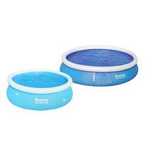 Чехол для круглого надувного бассейна 244 см с нагревающим эффектом Bestway (58060) купить оптом и в розницу
