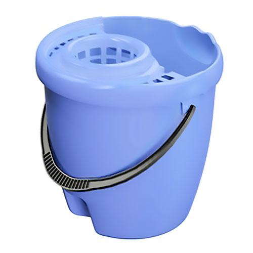 Ведро МОП с отжимом круглое 12л синий *8 купить оптом и в розницу