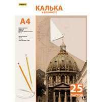 Калька A4 25л PROFF обложка цветная мелованная бумага на склейке купить оптом и в розницу
