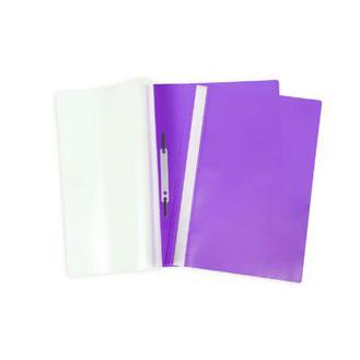 Папка скоросшиватель А4 фиолетовая 04607 Hatber купить оптом и в розницу
