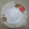 Тарелка суповая 20см ″Розы″ купить оптом и в розницу