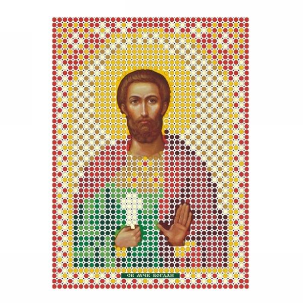 Набор для вышивания бисером ММ-014 Св.Богдан 8*11 см купить оптом и в розницу