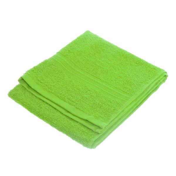 Махровое полотенце 40*70см салатовое ЭК70 Д01 купить оптом и в розницу