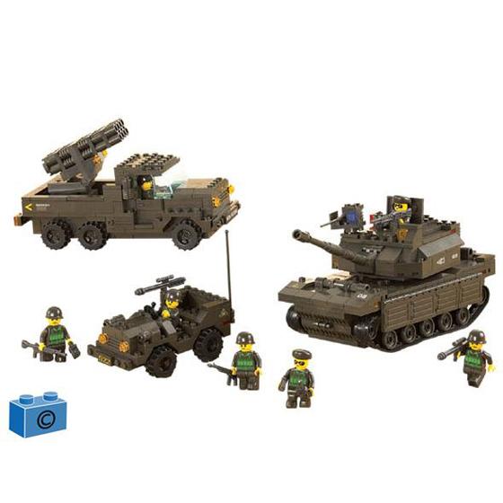 Констр-р 38-6800 Сухопутные войска 602 дет.в кор. купить оптом и в розницу
