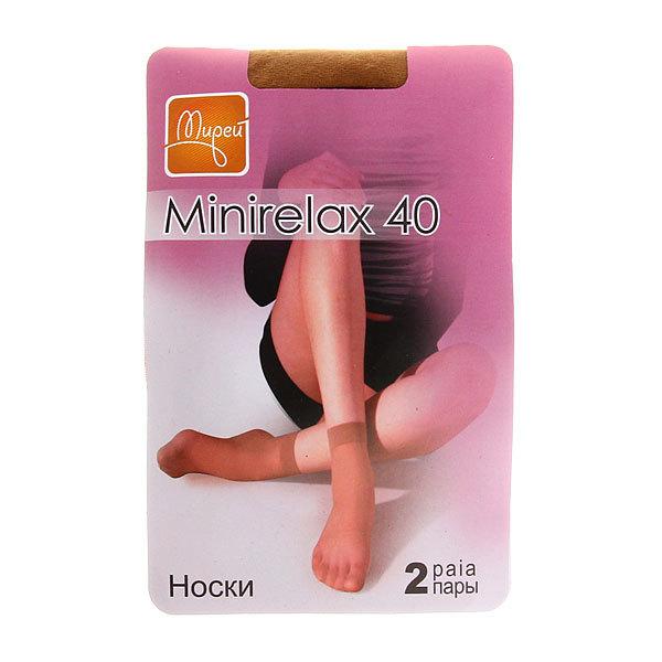 Носки женские МИРЕЙ MINIRELAX 40 (2 пары) (144) daino, unica купить оптом и в розницу