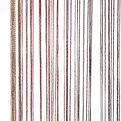 Занавеска нитяная 1*2м 2-х цветная Ультрамарин купить оптом и в розницу