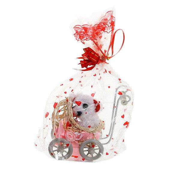 Подарочный набор ″Валентинка″, медвежонок в коляске купить оптом и в розницу