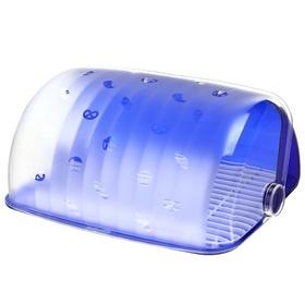Хлебница Санти (синий полупрозрачный) *4 купить оптом и в розницу
