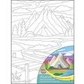 Набор ДТ Роспись по холсту Красивый пейзаж Х-1666 купить оптом и в розницу