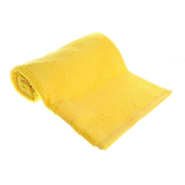 Махровое полотенце 50*90см лимонное ЭК90 Д01 купить оптом и в розницу