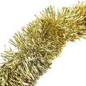 Мишура новогодняя 2 метра 9см ″Классика″ золото купить оптом и в розницу