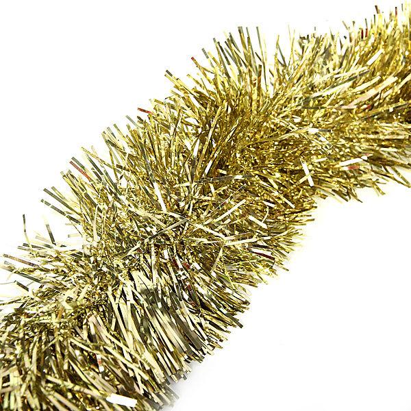 Мишура 2м 9см ″Классика″ золото купить оптом и в розницу