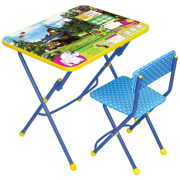 Набор детской мебели ″Маша и медведь.Ловись рыбка″ складной, мягкий стул КУ1/5 купить оптом и в розницу