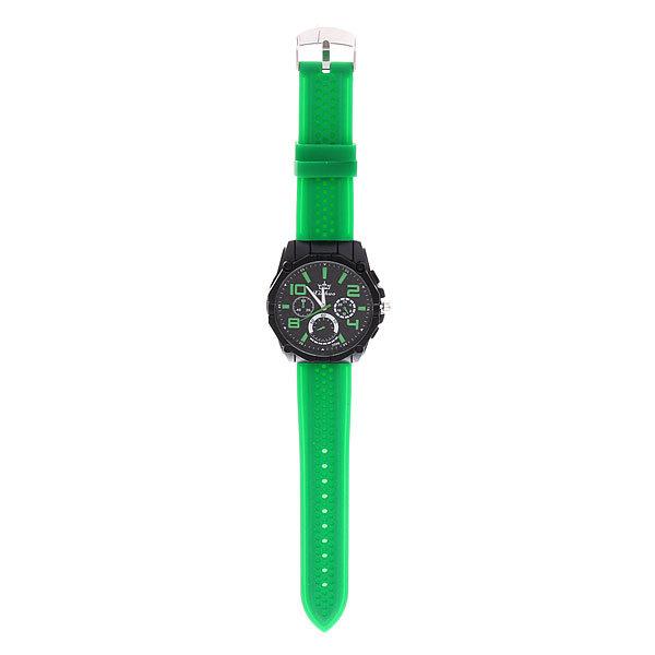 Часы наручные Спорт, круглый циферблат, цветной ремень купить оптом и в розницу