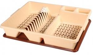Сушилка для посуды одноярусная 38х46,5 см 1/5 купить оптом и в розницу