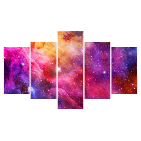 Картина модульная полиптих 75*130 Космос диз.5 41-02 купить оптом и в розницу