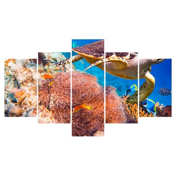 Картина модульная полиптих 75*130 Море диз.3 44-02 купить оптом и в розницу