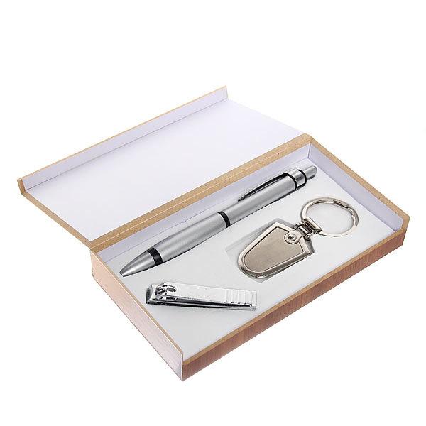 Подарочный набор (ручка+брелок+кусачки) JK-8622 купить оптом и в розницу
